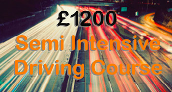 £975 Semi Intensive Driving Course 30 hours